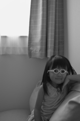 変なメガネ