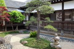 川越城の坪庭