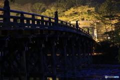 早朝の宇治橋