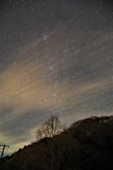 丹沢湖北西側星景