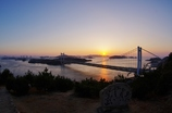 夕暮れの瀬戸大橋