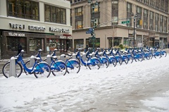 Blizzard in Times Square⑦