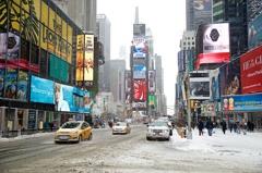 Blizzard in Times Square⑥