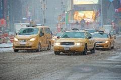 Blizzard in Times Square②