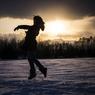 雪上のバレリーナ