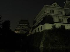 夜の小倉城 ②