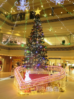 シーモール下関のクリスマスツリー①