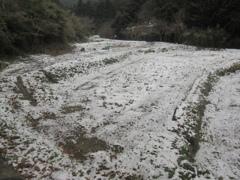 雪の積もった福岡県内②