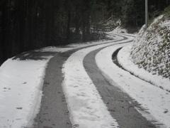 雪の積もった福岡県内⑤