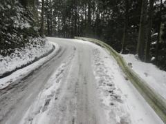 雪の積もった福岡県内⑩