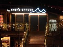 川辺のレストランとイルミネーション④