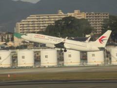 CHINA EASTERN  737-800 離陸