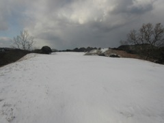佐賀県基山町の積雪 ③