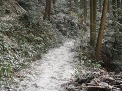佐賀県基山町の積雪 ①