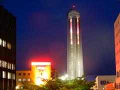 夜の海峡ゆめタワー