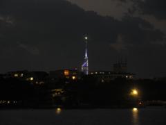 夕暮れの大濠公園④