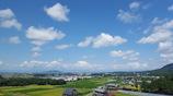 琵琶湖の空 なつ