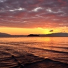 琵琶湖 彩の朝