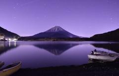 精進湖星の夜