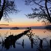 魅せられて~湖北の秋夕暮れ