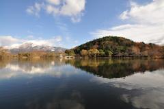 秋から冬へ~三島池~