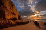 夕陽を追いかけて~いつもの浜辺より