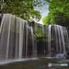 緑と滝のハーモニー
