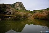 御船山の秋景