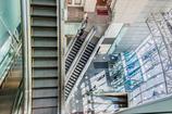escalator labyrinth