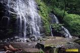 新緑の龍双ヶ滝 Ⅰ