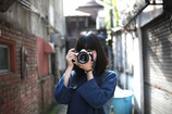 a camera girl