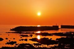 落陽 太陽がいっぱい・・・・☀