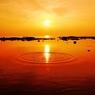 静寂の落陽