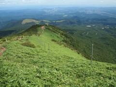 赤薙山への道