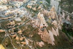 奇岩群、ウチヒサルより