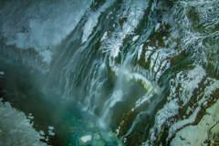 白ひげの滝 ~ライトアップ~