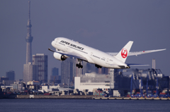 To the sky JAL
