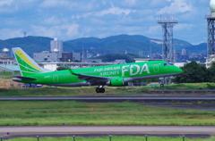 FDA エンブラエル ERJ-170 (グリーン)