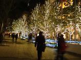 東京スカイツリー クリスマスライトアップ-002