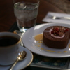 「注文の多いロールケーキ」と珈琲のセット