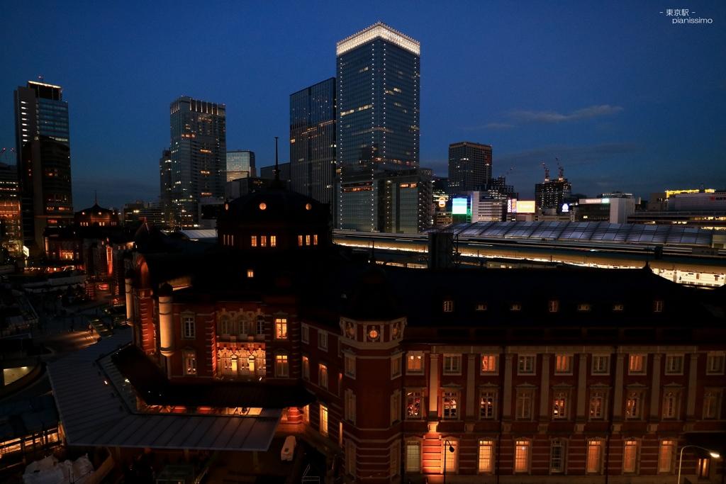あこがれの東京駅