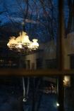 北の森のティーハウス (冬窓)