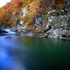 錦秋の渓谷 3