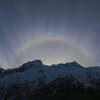日暈、円形虹