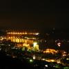 尾道の夜景を眺める