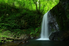 中の滝 (2)