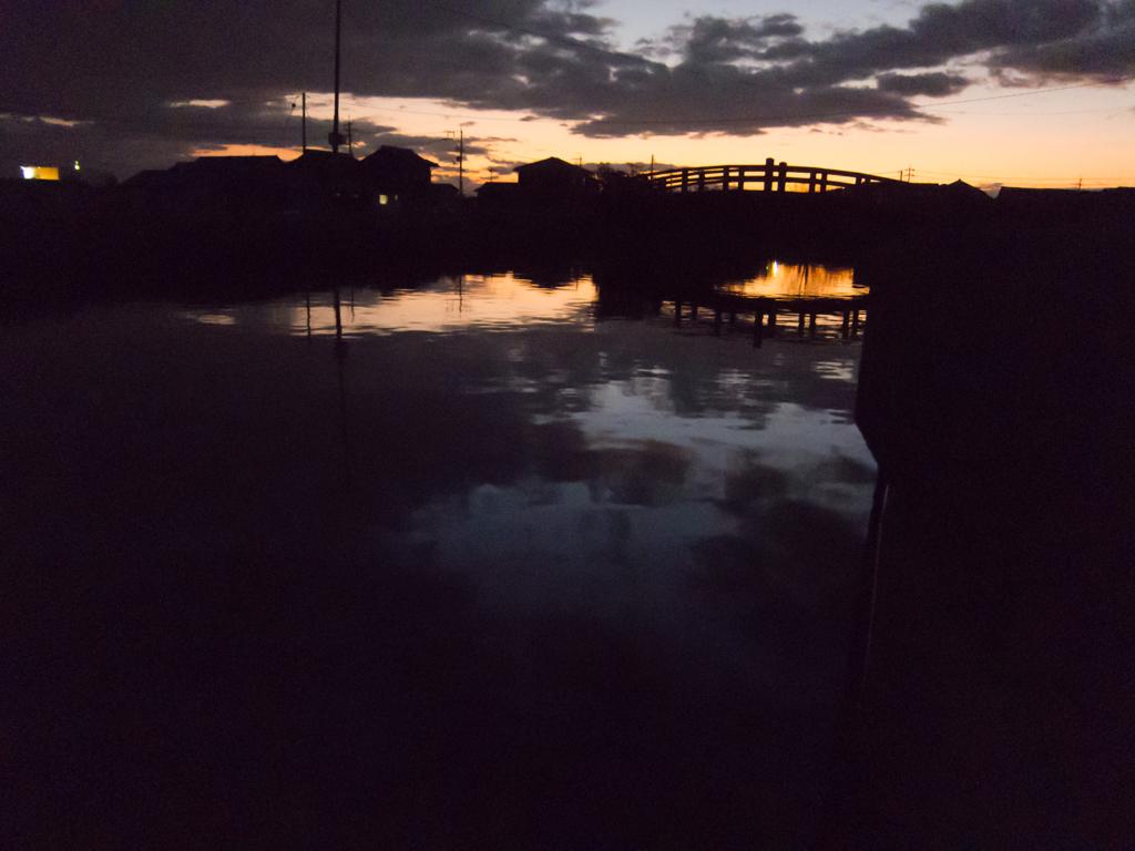 今日の夕焼け 20151216