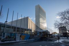国連本部とかいう謎の教団です(・_・;)