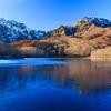 初冬の鏡池