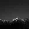 モノクロームの名山  三題  最終章    南アルプス  甲斐駒ケ岳